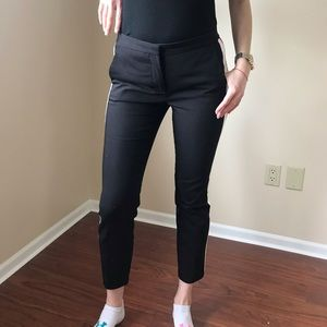 Zara Pants - ZARA black striped pants